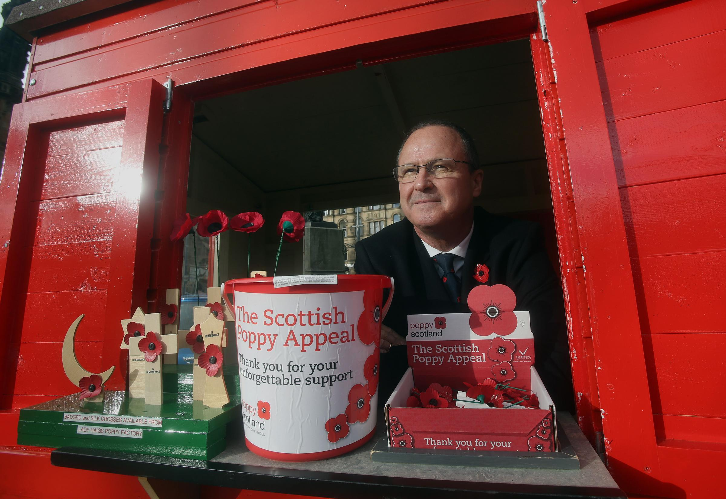 Will poppies wilt as Scotland's military family shrinks?