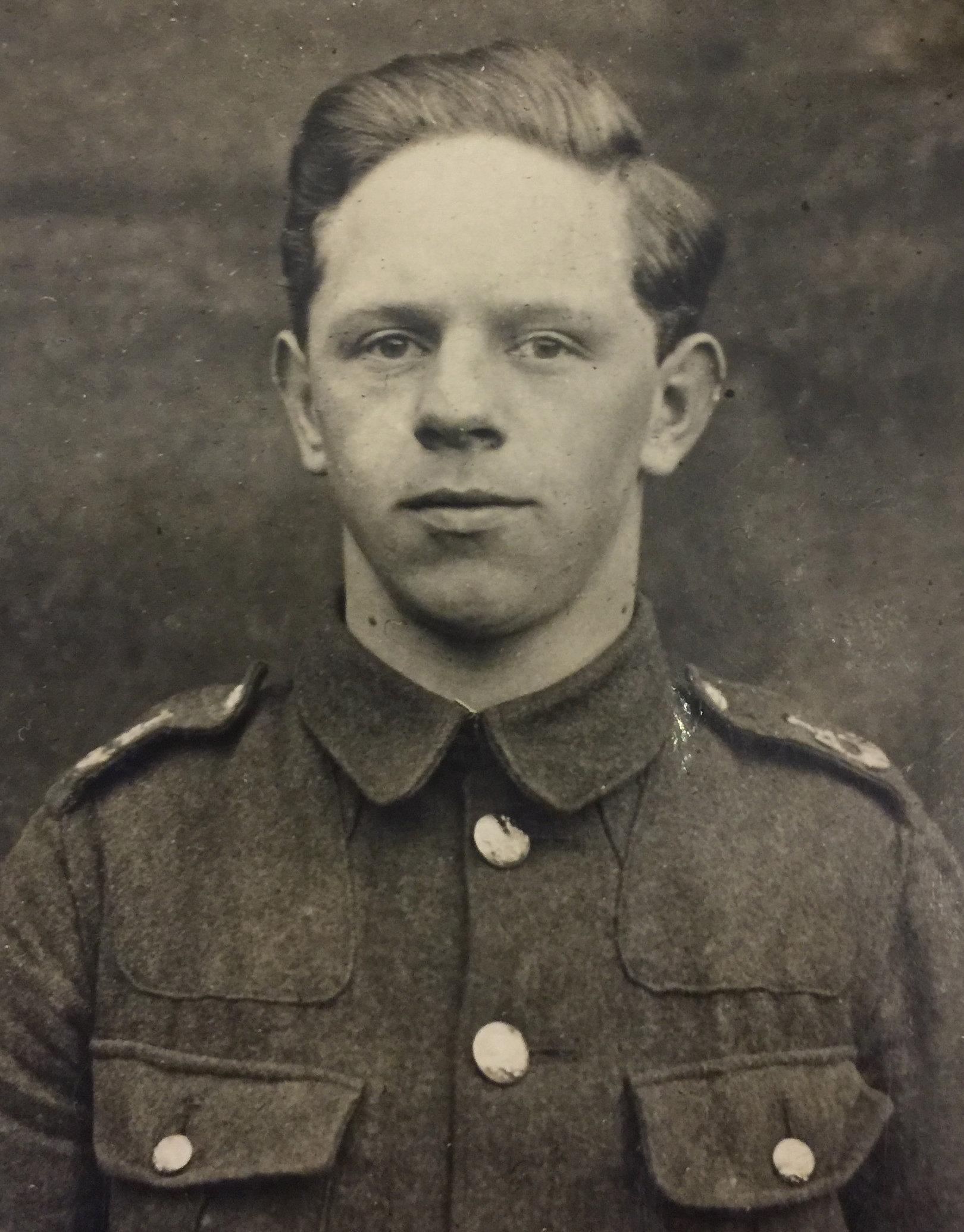Robert Dawson was killed in shell attack during First World War