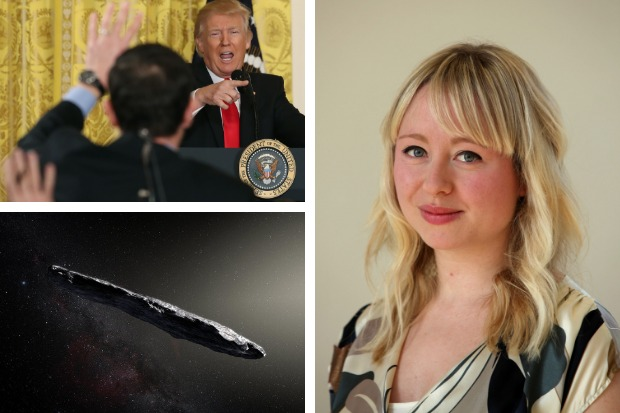 Donald Trump and Oumuamua