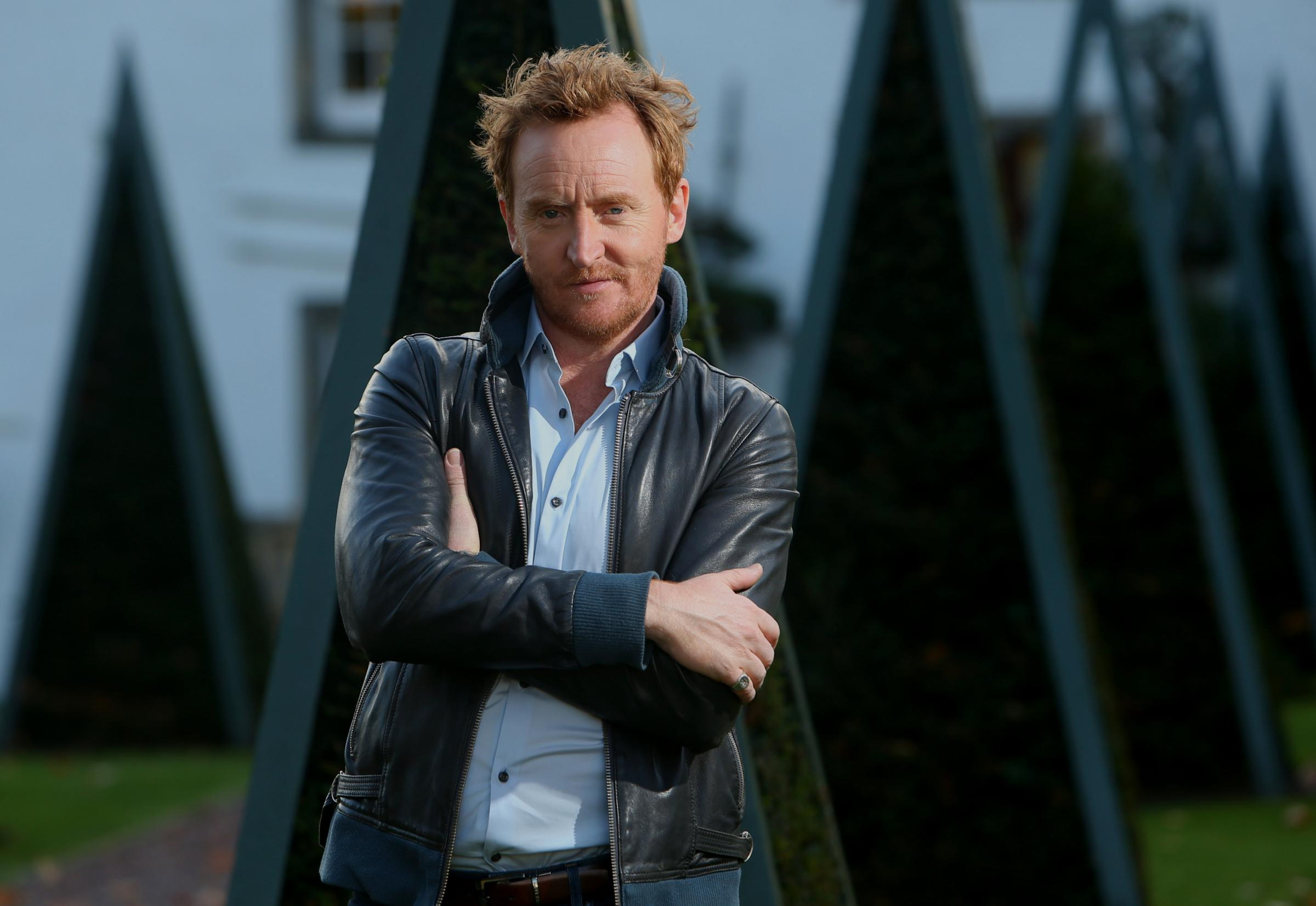 Outlaw King actor Tony Curran photographed at Prestonfield House. STY SWARBRICK.Pic Gordon Terris/The Herald.19/10/18.
