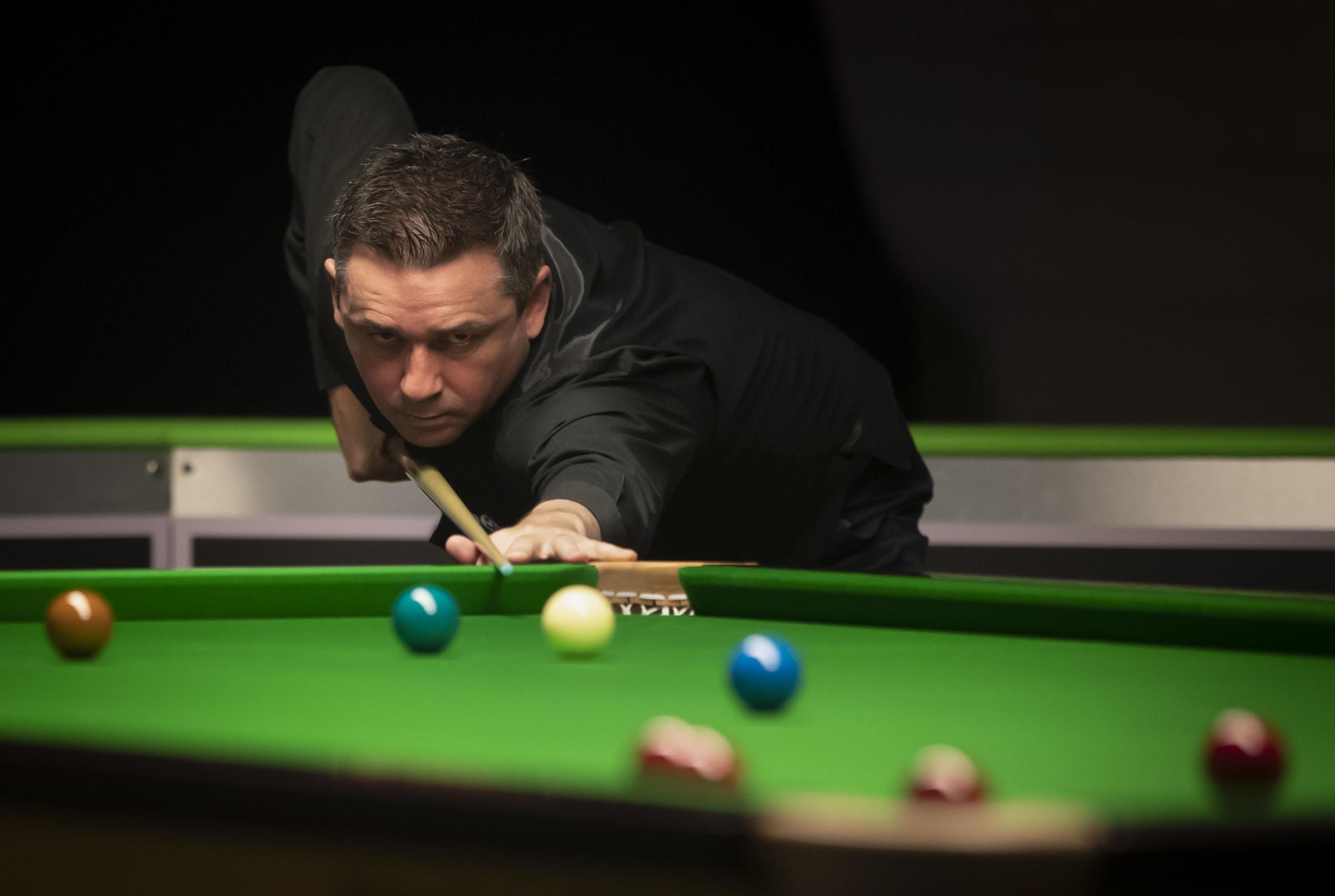 Alan McManus during day seven of the Betway UK Championship at The York Barbican. PRESS ASSOCIATION Photo. Picture date: Monday December 3, 2018. Photo credit should read: Danny Lawson/PA Wire