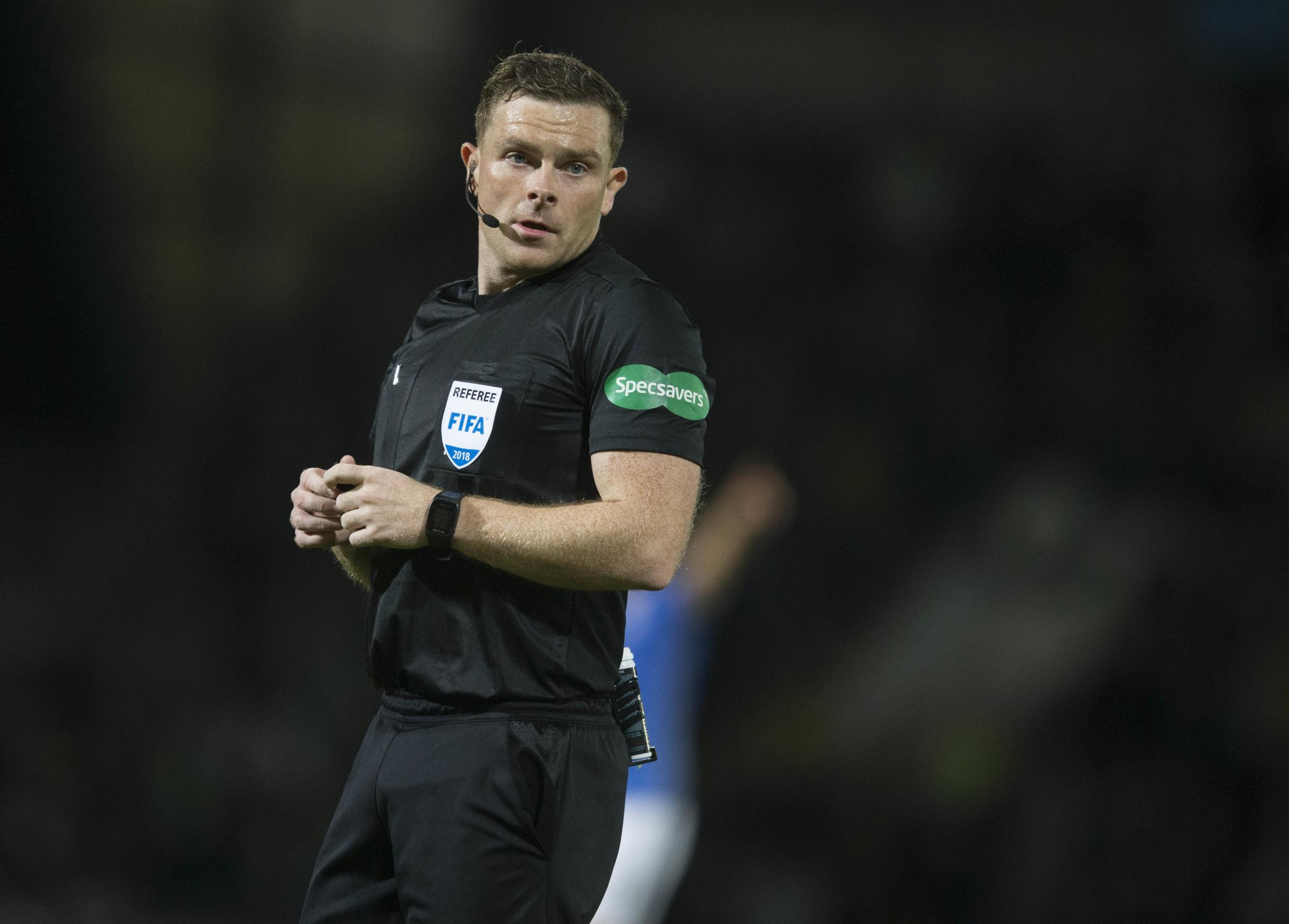 File photo dated 26-09-2018 of Referee John Beaton PRESS ASSOCIATION Photo. Issue date: Saturday January 5, 2019. Referee John Beaton has called in police after being targeted with threatening messages online in the wake of last weekend's Old Firm cla