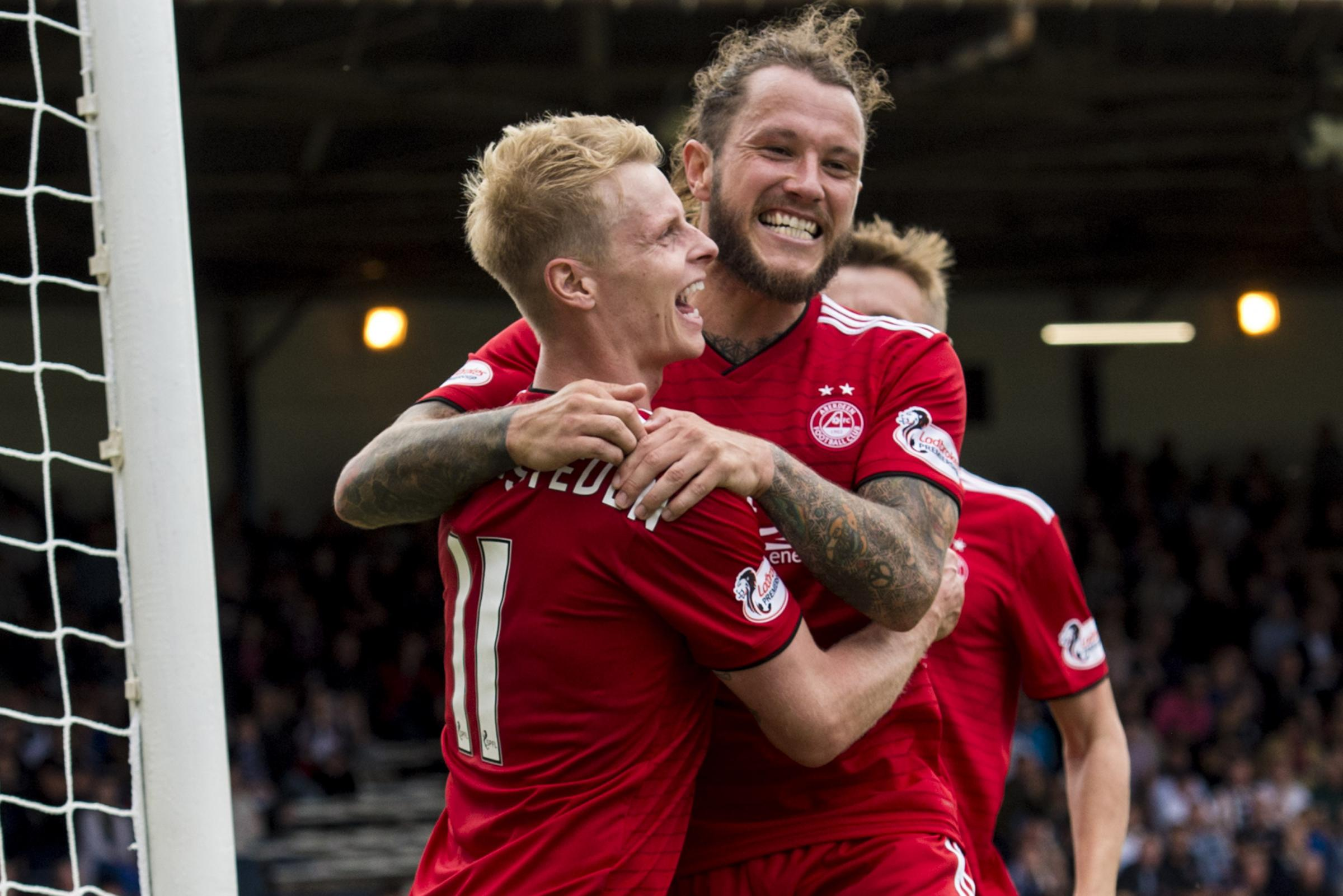 Derek McInnes hopes to persuade wanted duo to remain at Pittodrie
