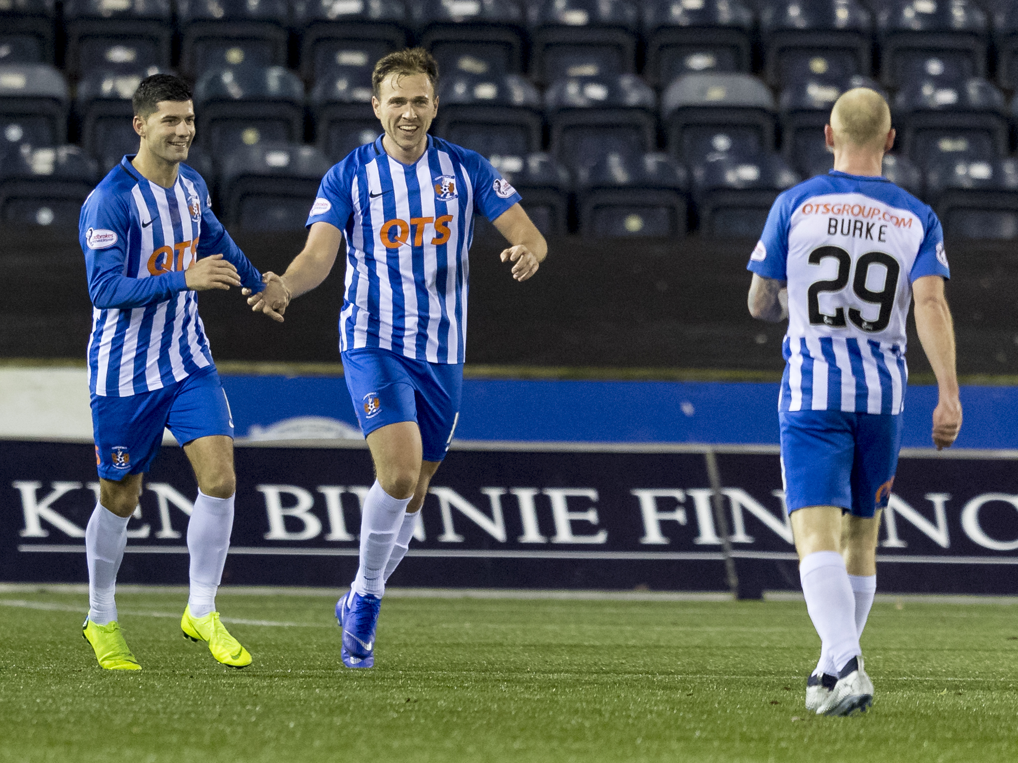 Birmingham City recall Kilmarnock striker Greg Stewart from loan