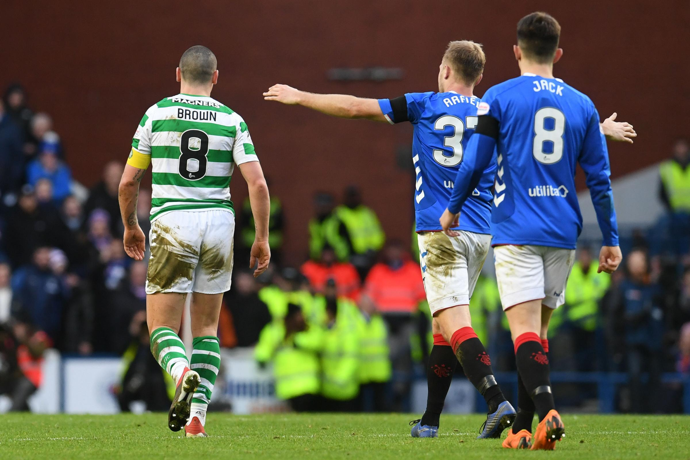 Scott Arfield on his 'Broony' celebration, his mentality and why he hasn't watched Rangers' Rangers' Old Firm win back yet