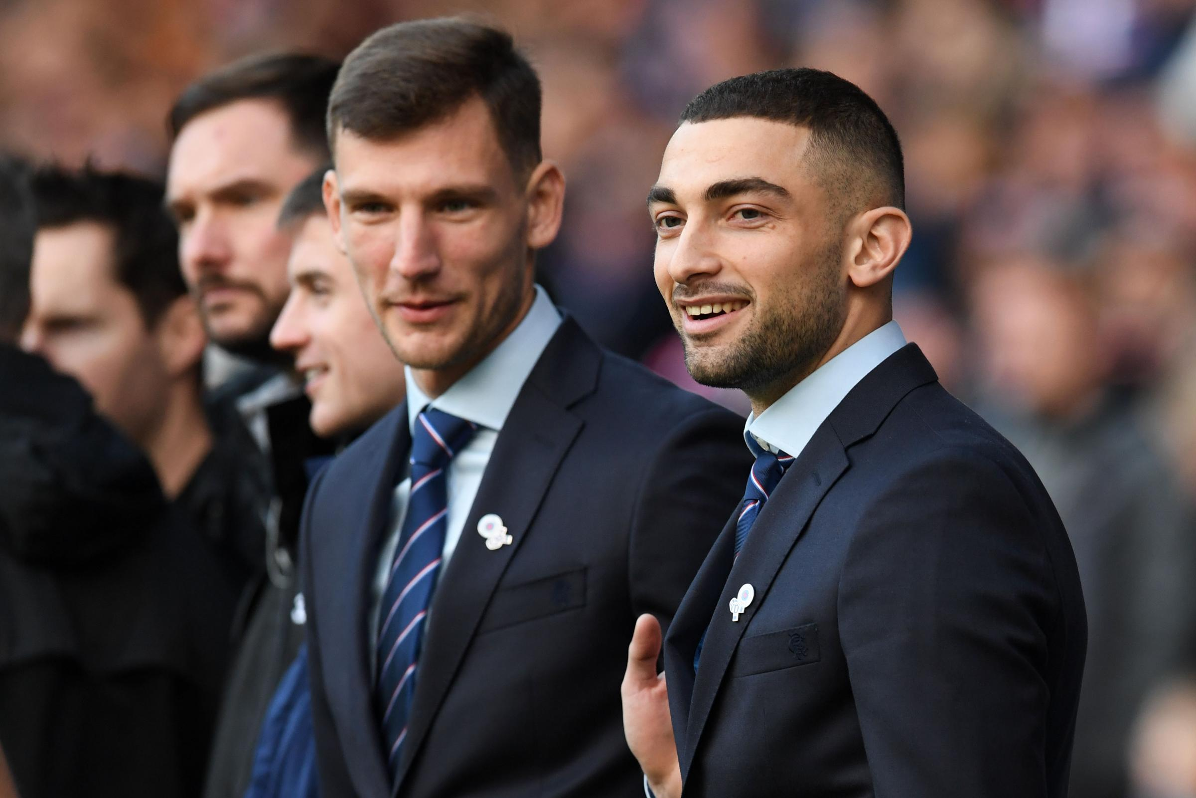 Steven Gerrard challenges Borna Barisic and Eros Grezda to make their mark at Rangers