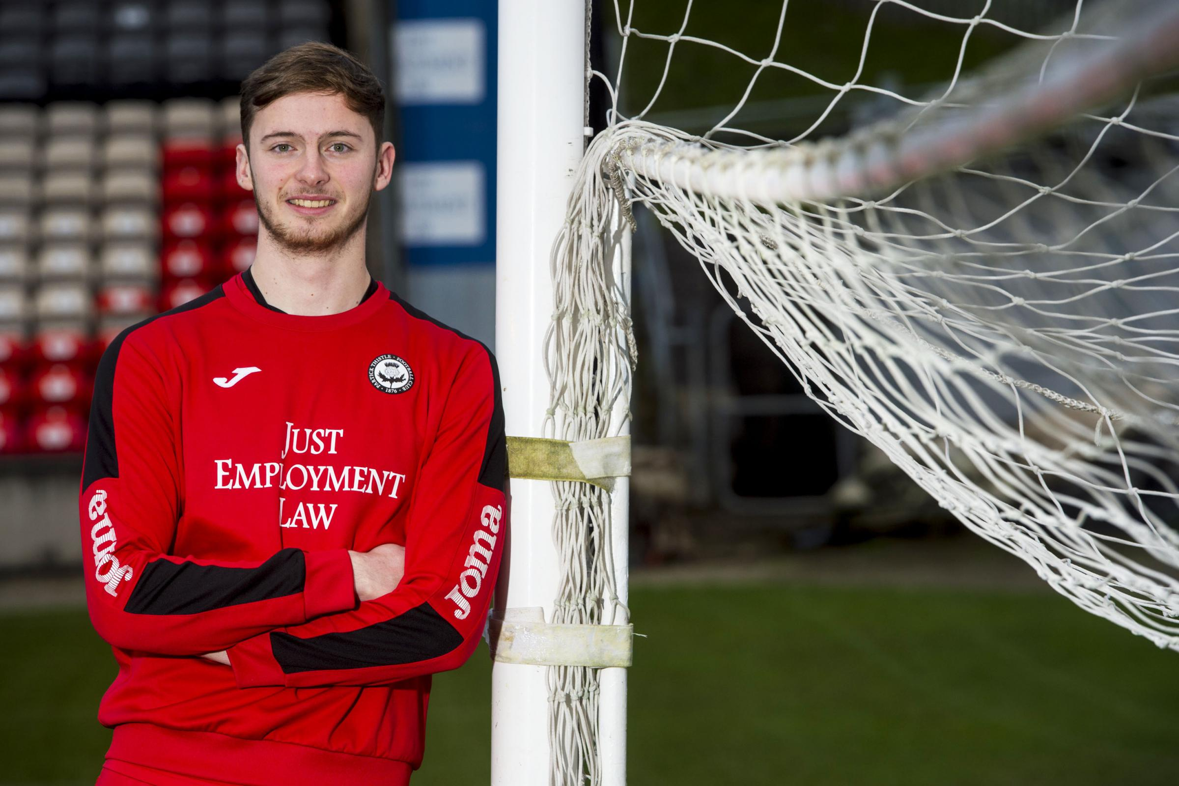 Conor Hazard hopes his Celtic mentality can rub off on Partick Thistle teammates