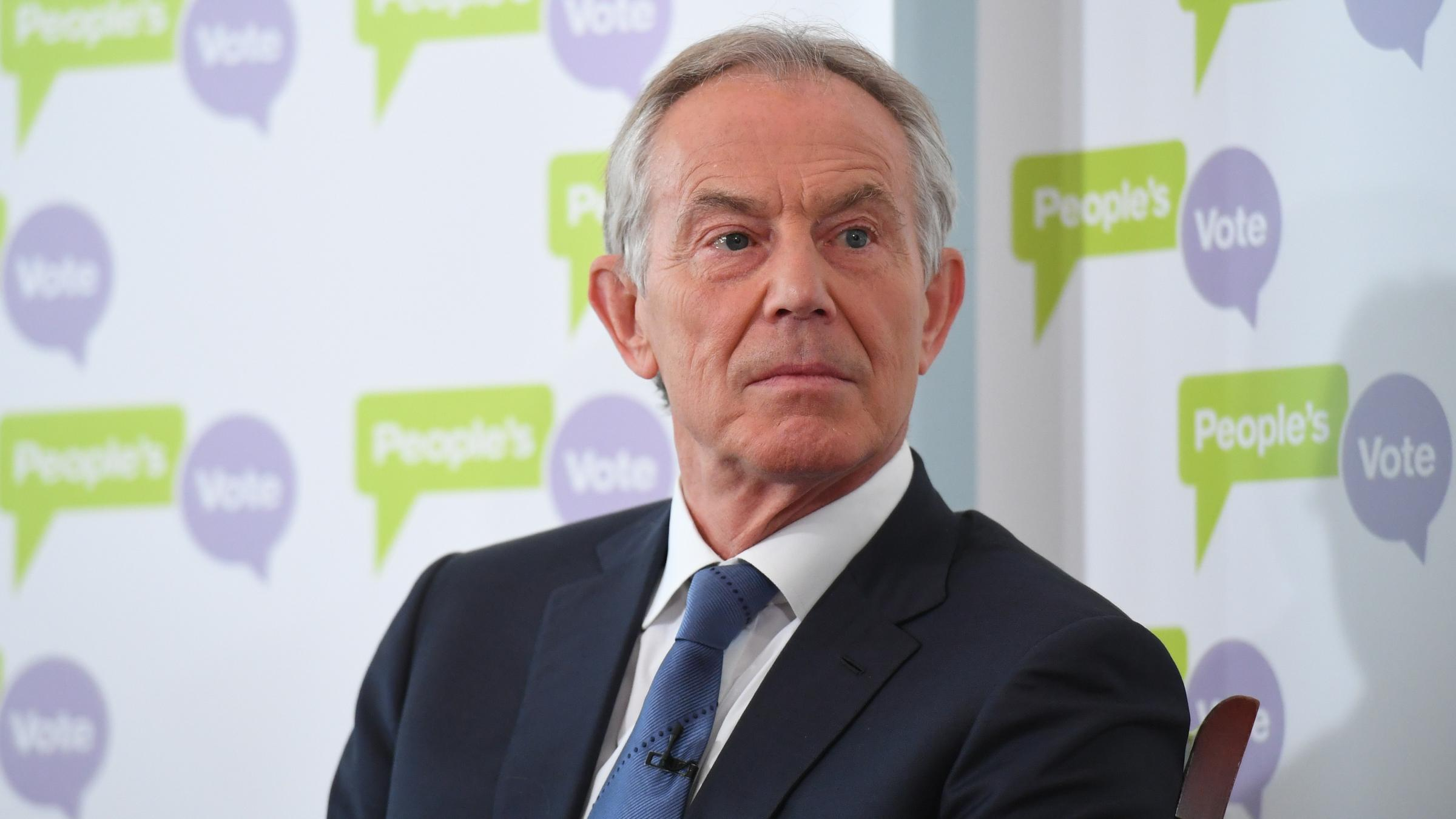 Blair warns of 'devastating' impact of no-deal Brexit on NI peace process