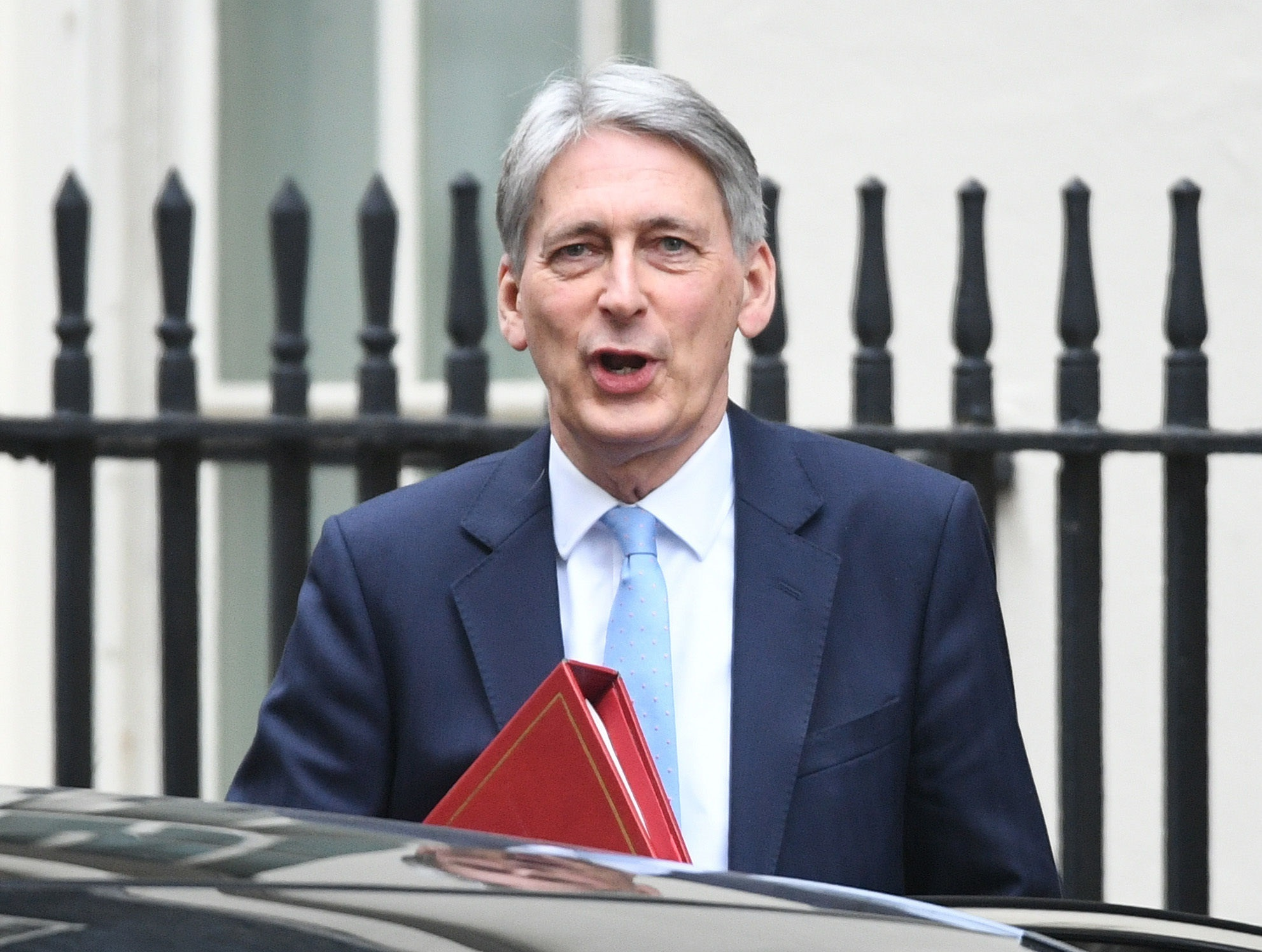 Fundamentally strong? Hammond accepts Brexit uncertainty hitting economy but says once deal done growth will improve