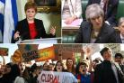 Nicola Sturgeon and Theresa May in war of words over school pupils climate change protest