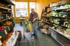 General view of interior of Locavore Grocery in Govanhill, Glasgow. ..Picture Robert Perry 14th 2019..Must credit photo to Robert Perry.FEE PAYABLE FOR REPRO USE.FEE PAYABLE FOR ALL INTERNET USE.www.robertperry.co.uk.NB -This image is not to be distribute